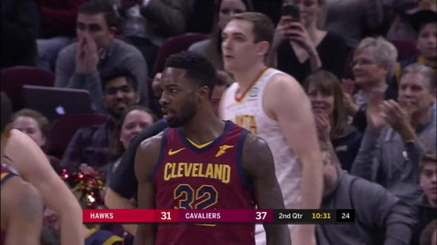 WSC: LeBron James 25 points vs the Hawks