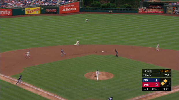 Galvis' 2-run single stands