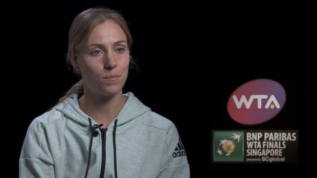 WTA Finals: Kerber: Bis zum Ende dran geglaubt