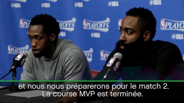 """Basket : NBA - Playoffs - Harden - """"La course MVP est terminée"""""""