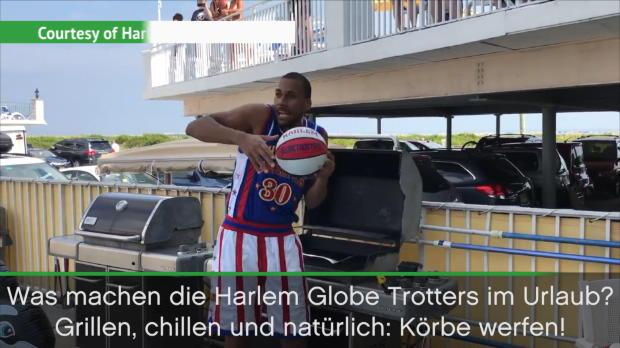 Das machen die Harlem Globetrotters im Urlaub
