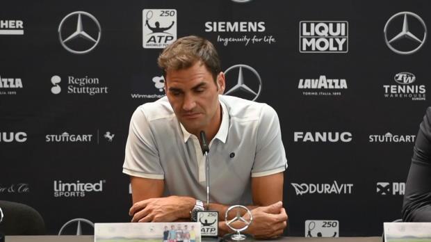 """Stuttgart: Federer: """"Nummer 1 nicht das Ziel"""""""