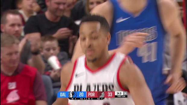 WSC: CJ McCollum (26 points) Highlights vs. Dallas Mavericks