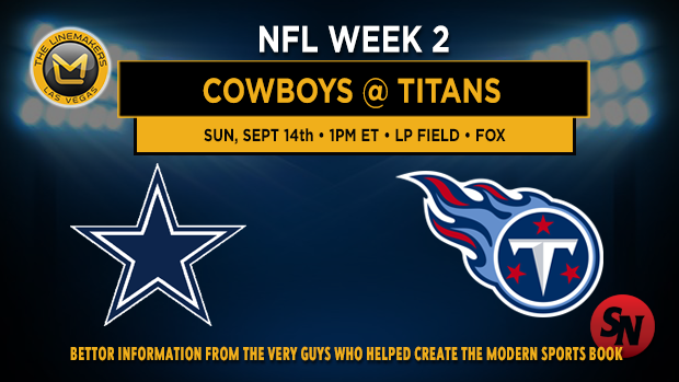 Dallas Cowboys @ Tennessee Titans