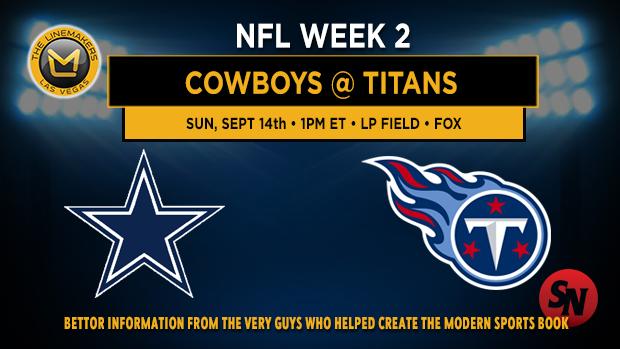 Dallas Cowboys @ Tennessee Titans