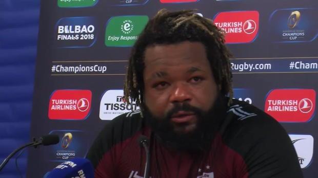 """Rugby : RCT - Bastareaud - """"Se cacher derrière l'arbitrage, c'est l'excuse des faibles"""""""