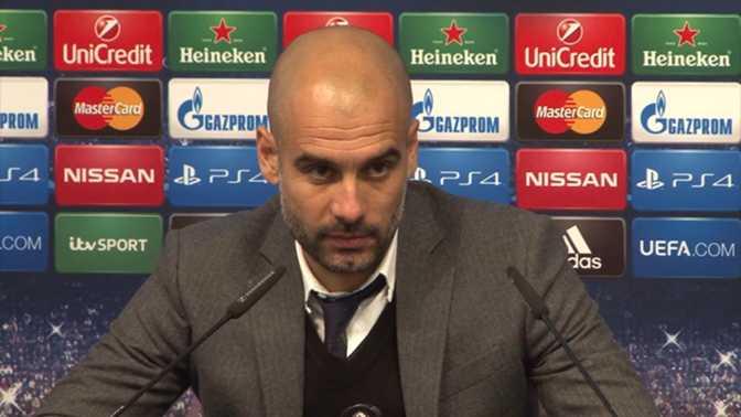"""Guardiola : """"Ca fait partie du jeu"""""""