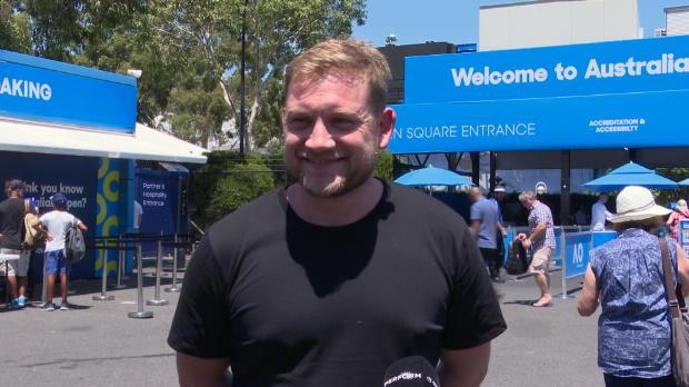 : Open d'Australie - Quand les fans australiens prononcent le nom de Lucas Pouille...