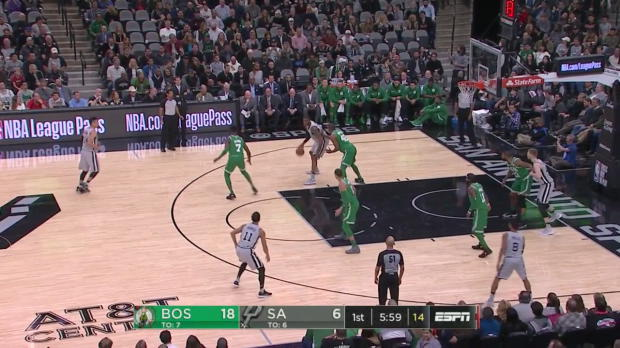 WSC: LaMarcus Aldridge (27 points) Highlights vs. Boston Celtics