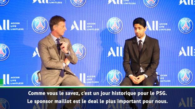 PSG - Al-Khelaïfi - 'Un jour historique'
