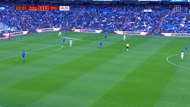 Copa del Rey: Real Madrid - Melilla LFrame