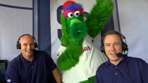Phanatic joins Padres' booth