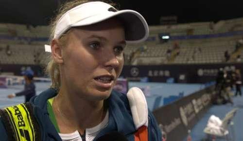 Wozniacki Interview: WTA Beijing 2R