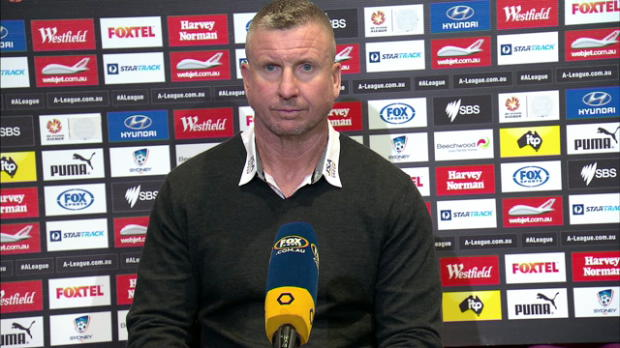 Newcastle Jets Rd 27 press conference