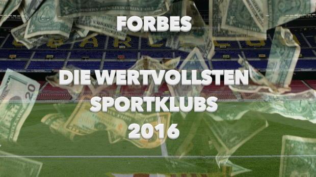 Forbes-Liste: Real Madrid verliert Platz eins