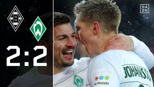 Borussia M´Gladbach - SV Werder Bremen