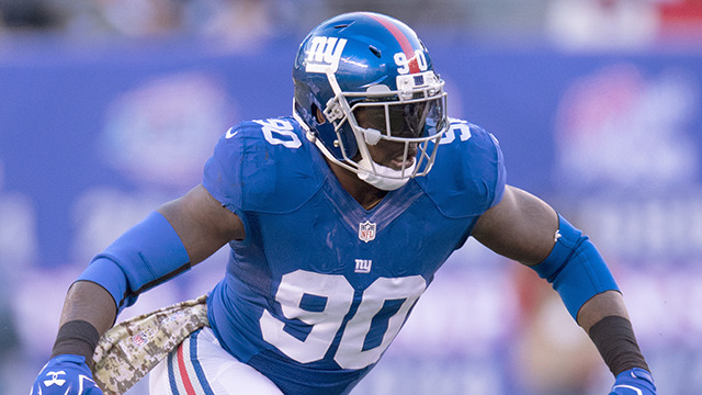 Mike Garafolo: Giants place franchise tag on Jason Pierre-Paul