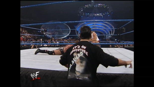 Triple H vs. The Rock - WWE Championship Match: SmackDown, Aug. 26, 1999