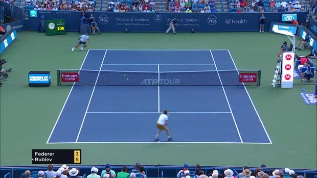 Basket : Cincinnati - Federer sorti par Rublev !