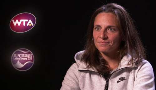 Vinci Interview: WTA St Petersburg SF