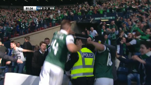 Scottish Cup Final: Rangers 2-3 Hibernian