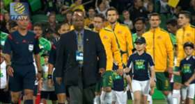 The Socceroos recount the experience of playing in Perth after their convincing win over Bangladesh.