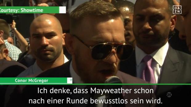 Boxen: Mayweather und McGregor wollen den K.o.