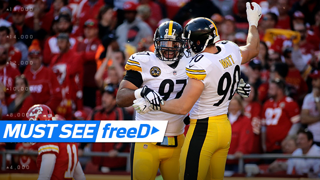 freeD: Snap sails over Alex Smith's head for safety | Week 6