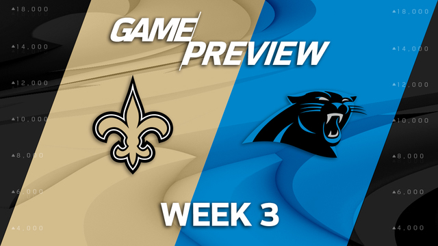 New Orleans Saints vs. Carolina Panthers preview | 'NFL Playbook'