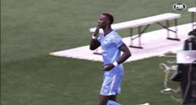 Sydney FC attacker Bernie Ibini talks about the connection he has with the fans after scoring goals.
