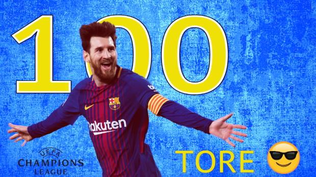 Messi schreibt mit 100. Tor Geschichte