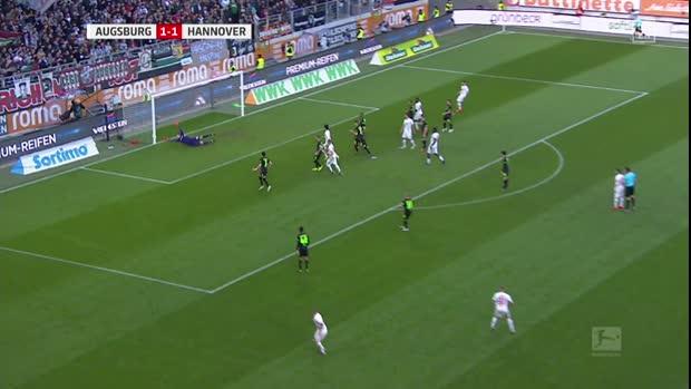 Frecher Freistoß von Jonathan Schmid   Bundesliga Highlights