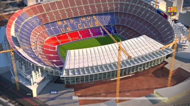 """""""Espai Barca"""": So sieht das Camp Nou 2022 aus"""