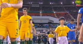The Caltex Socceroos were held to a gripping 2-2 draw by Thailand in their World Cup Qualifier on Tuesday night.