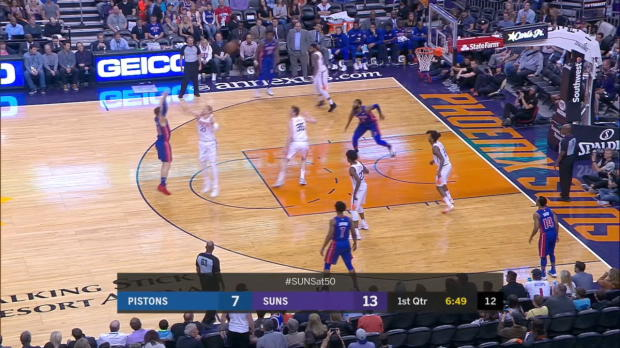 Game Recap: Pistons 115, Suns 88