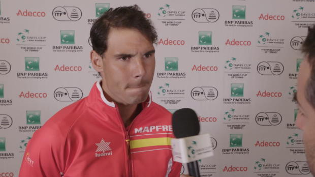 Davis Cup: Nadal erwartet hartes Match