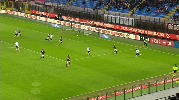 Serie A Round 24: AC Milan 1-1 Udinese