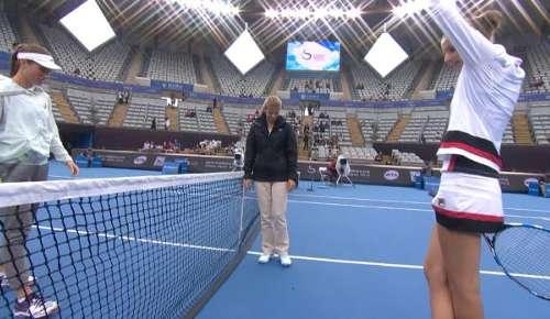 Pliskova v Konta Highlights: WTA Beijing 3R