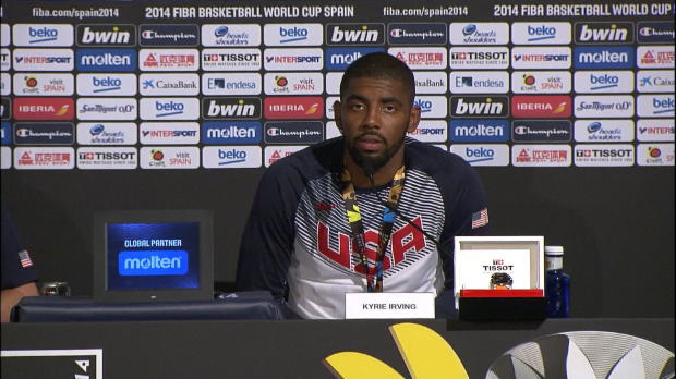 "Basket : FIBA - Mondial - Irving - ""Le plus grand accomplissement de ma vie"""