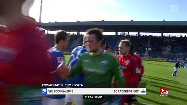 2. Bundesliga: VfL Bochum 1848 - SC Paderborn | DAZN Highlights