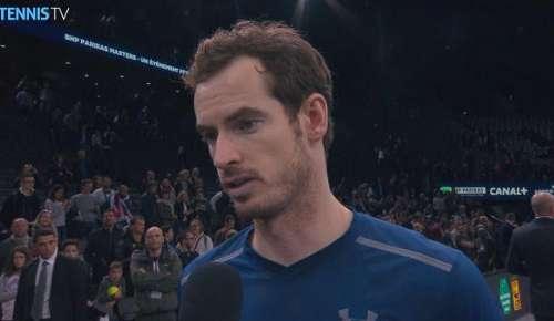 Murray Interview: ATP Paris Final