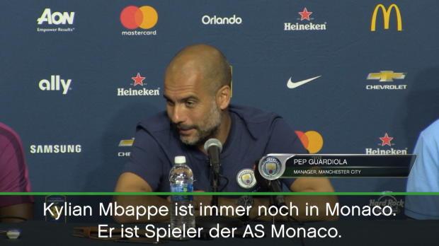 "Guardiola über Mbappe: ""Alles kann passieren"""