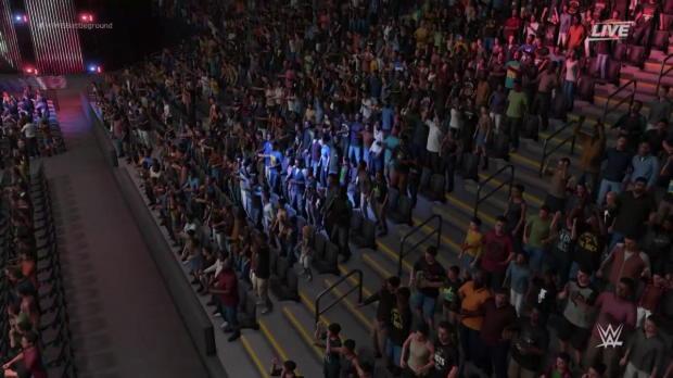 WWE 2K18 entrance mashup: Jason Jordan as Kurt Angle