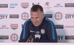 City's new Head Coach Warren Joyce speaks to the media for the first time after being appointed Melbourne City's new boss.