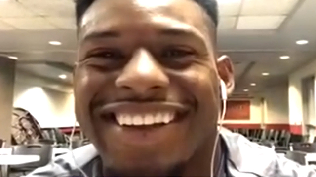 JuJu Smith-Schuster on sharing the ball with so many offensive stars