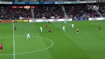 L.Europa : Guingamp 1-2 Fiorentina