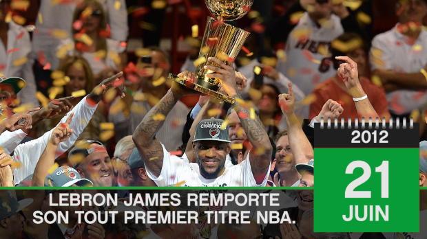 Basket : Aujourd'hui - 2012, LeBron James décroche son premier titre