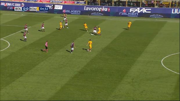 Serie A: Bologna - AS Rom | DAZN Highlights