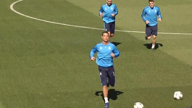 Real vor City: Ronaldo trainiert wieder