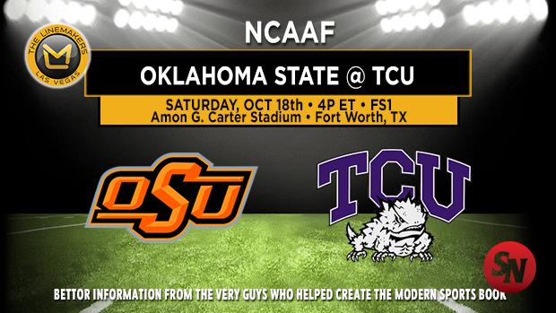 Oklahoma State Cowboys @ TCU Horned Frogs